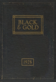 Page 1, 1928 Edition, Fremont High School - Black And Gold Yearbook (Fremont, NE) online yearbook collection