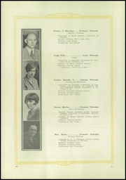 Page 16, 1928 Edition, Fremont High School - Black And Gold Yearbook (Fremont, NE) online yearbook collection