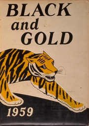 1959 Edition, Fremont High School - Black And Gold Yearbook (Fremont, NE)