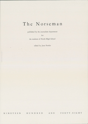 Page 7, 1948 Edition, Omaha North High School - Norseman Yearbook (Omaha, NE) online yearbook collection