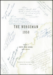 Page 5, 1950 Edition, Omaha North High School - Norseman Yearbook (Omaha, NE) online yearbook collection
