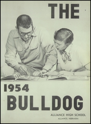 Page 7, 1954 Edition, Alliance High School - Bulldog Yearbook (Alliance, NE) online yearbook collection