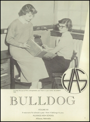 Page 5, 1956 Edition, Alliance High School - Bulldog Yearbook (Alliance, NE) online yearbook collection
