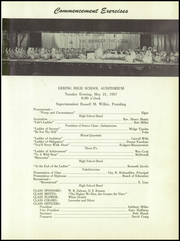 Page 13, 1957 Edition, Gering High School - Kennel Yearbook (Gering, NE) online yearbook collection