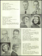 Page 14, 1957 Edition, Gering High School - Kennel Yearbook (Gering, NE) online yearbook collection