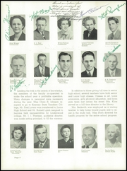 Page 12, 1949 Edition, Beatrice High School - Homesteader Yearbook (Beatrice, NE) online yearbook collection