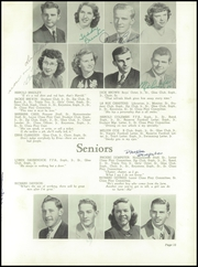 Page 15, 1949 Edition, Beatrice High School - Homesteader Yearbook (Beatrice, NE) online yearbook collection