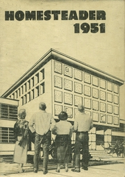 1951 Edition, Beatrice High School - Homesteader Yearbook (Beatrice, NE)