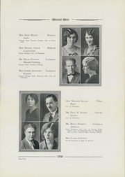 Page 15, 1930 Edition, Lexington High School - Minute Man Yearbook (Lexington, NE) online yearbook collection