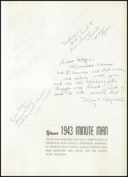 Page 5, 1943 Edition, Lexington High School - Minute Man Yearbook (Lexington, NE) online yearbook collection