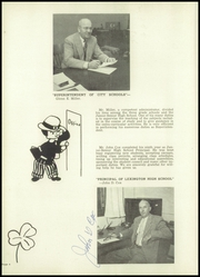 Page 8, 1955 Edition, Lexington High School - Minute Man Yearbook (Lexington, NE) online yearbook collection