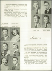 Page 16, 1949 Edition, Nebraska City High School - Pioneer Yearbook (Nebraska City, NE) online yearbook collection