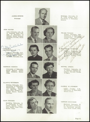 Page 15, 1952 Edition, Holdredge High School - Purple and Gold Yearbook (Holdrege, NE) online yearbook collection