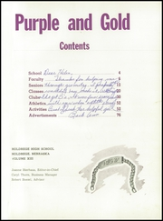 Page 5, 1952 Edition, Holdredge High School - Purple and Gold Yearbook (Holdrege, NE) online yearbook collection