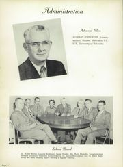 Page 8, 1954 Edition, Holdredge High School - Purple and Gold Yearbook (Holdrege, NE) online yearbook collection