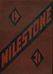 Page 1, 1931 Edition, Chadron High School - Milestone Yearbook (Chadron, NE) online yearbook collection