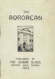 Page 5, 1932 Edition, Aurora High School - A Roar In Yearbook (Aurora, NE) online yearbook collection