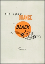 Page 11, 1947 Edition, Falls City High School - Orange and Black Yearbook (Falls City, NE) online yearbook collection