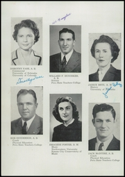 Page 8, 1947 Edition, Falls City High School - Orange and Black Yearbook (Falls City, NE) online yearbook collection