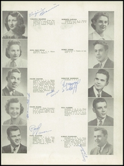 Page 15, 1949 Edition, Falls City High School - Orange and Black Yearbook (Falls City, NE) online yearbook collection