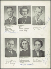 Page 9, 1949 Edition, Falls City High School - Orange and Black Yearbook (Falls City, NE) online yearbook collection