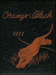 1951 Edition, Falls City High School - Orange and Black Yearbook (Falls City, NE)