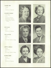 Page 11, 1951 Edition, Falls City High School - Orange and Black Yearbook (Falls City, NE) online yearbook collection