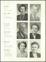 Page 9, 1951 Edition, Falls City High School - Orange and Black Yearbook (Falls City, NE) online yearbook collection