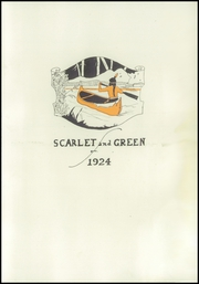 Page 7, 1924 Edition, Auburn High School - Scarlet and Green Yearbook (Auburn, NE) online yearbook collection