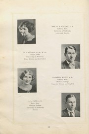 Page 10, 1926 Edition, Auburn High School - Scarlet and Green Yearbook (Auburn, NE) online yearbook collection
