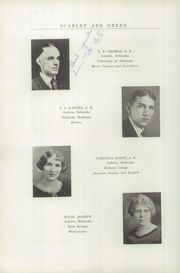 Page 16, 1927 Edition, Auburn High School - Scarlet and Green Yearbook (Auburn, NE) online yearbook collection