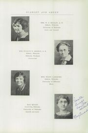 Page 17, 1927 Edition, Auburn High School - Scarlet and Green Yearbook (Auburn, NE) online yearbook collection