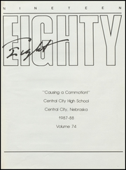 Page 5, 1988 Edition, Central City High School - Bison Yearbook (Central City, NE) online yearbook collection