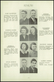 Page 10, 1945 Edition, Valentine High School - Badger Yearbook (Valentine, NE) online yearbook collection