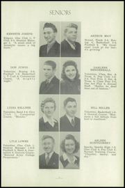 Page 11, 1945 Edition, Valentine High School - Badger Yearbook (Valentine, NE) online yearbook collection