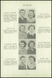 Page 12, 1945 Edition, Valentine High School - Badger Yearbook (Valentine, NE) online yearbook collection