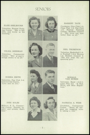 Page 13, 1945 Edition, Valentine High School - Badger Yearbook (Valentine, NE) online yearbook collection