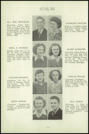 Page 8, 1945 Edition, Valentine High School - Badger Yearbook (Valentine, NE) online yearbook collection