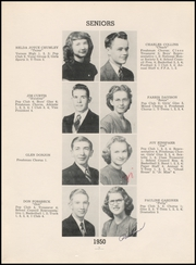 Page 11, 1950 Edition, Chase County High School - Longhorn Yearbook (Imperial, NE) online yearbook collection