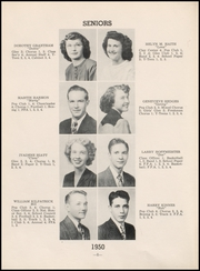 Page 12, 1950 Edition, Chase County High School - Longhorn Yearbook (Imperial, NE) online yearbook collection