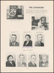 Page 7, 1950 Edition, Chase County High School - Longhorn Yearbook (Imperial, NE) online yearbook collection