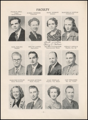 Page 8, 1950 Edition, Chase County High School - Longhorn Yearbook (Imperial, NE) online yearbook collection