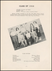 Page 9, 1950 Edition, Chase County High School - Longhorn Yearbook (Imperial, NE) online yearbook collection