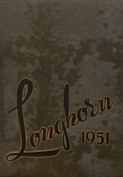 1951 Edition, Chase County High School - Longhorn Yearbook (Imperial, NE)