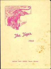 1944 Edition, Bayard High School - Tiger Yearbook (Bayard, NE)