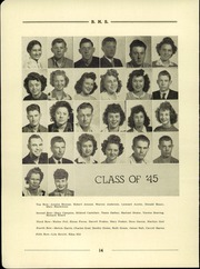 Page 16, 1944 Edition, Bayard High School - Tiger Yearbook (Bayard, NE) online yearbook collection
