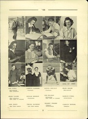 Page 9, 1944 Edition, Bayard High School - Tiger Yearbook (Bayard, NE) online yearbook collection