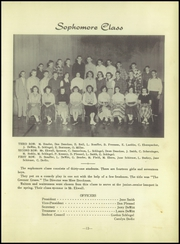 Page 17, 1954 Edition, Milford High School - Eagle Yearbook (Milford, NE) online yearbook collection
