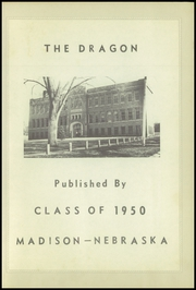 Page 7, 1950 Edition, Madison High School - Dragon Yearbook (Madison, NE) online yearbook collection