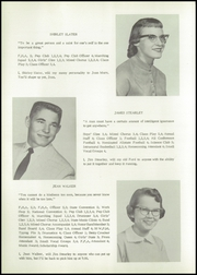 Page 16, 1958 Edition, Gibbon High School - Buffalo Yearbook (Gibbon, NE) online yearbook collection